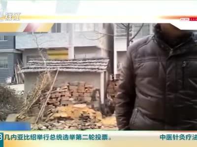 农村厕所改造埋下三只塑料桶 安徽阜阳农村厕被曝糊弄