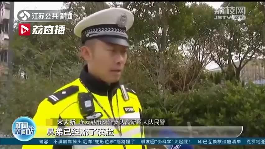 视频-醉驾男被查竟劝交警喝酒:兄弟,感情深一口闷