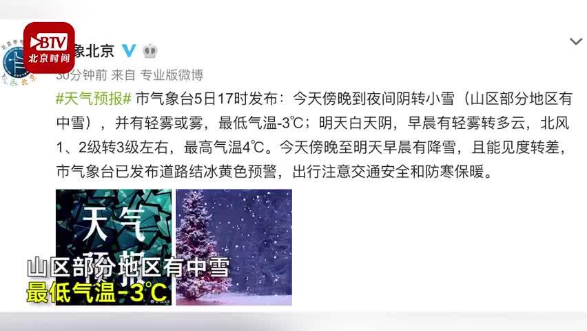 视频:2020年第一场雪飘落京城 网友:可惜故宫