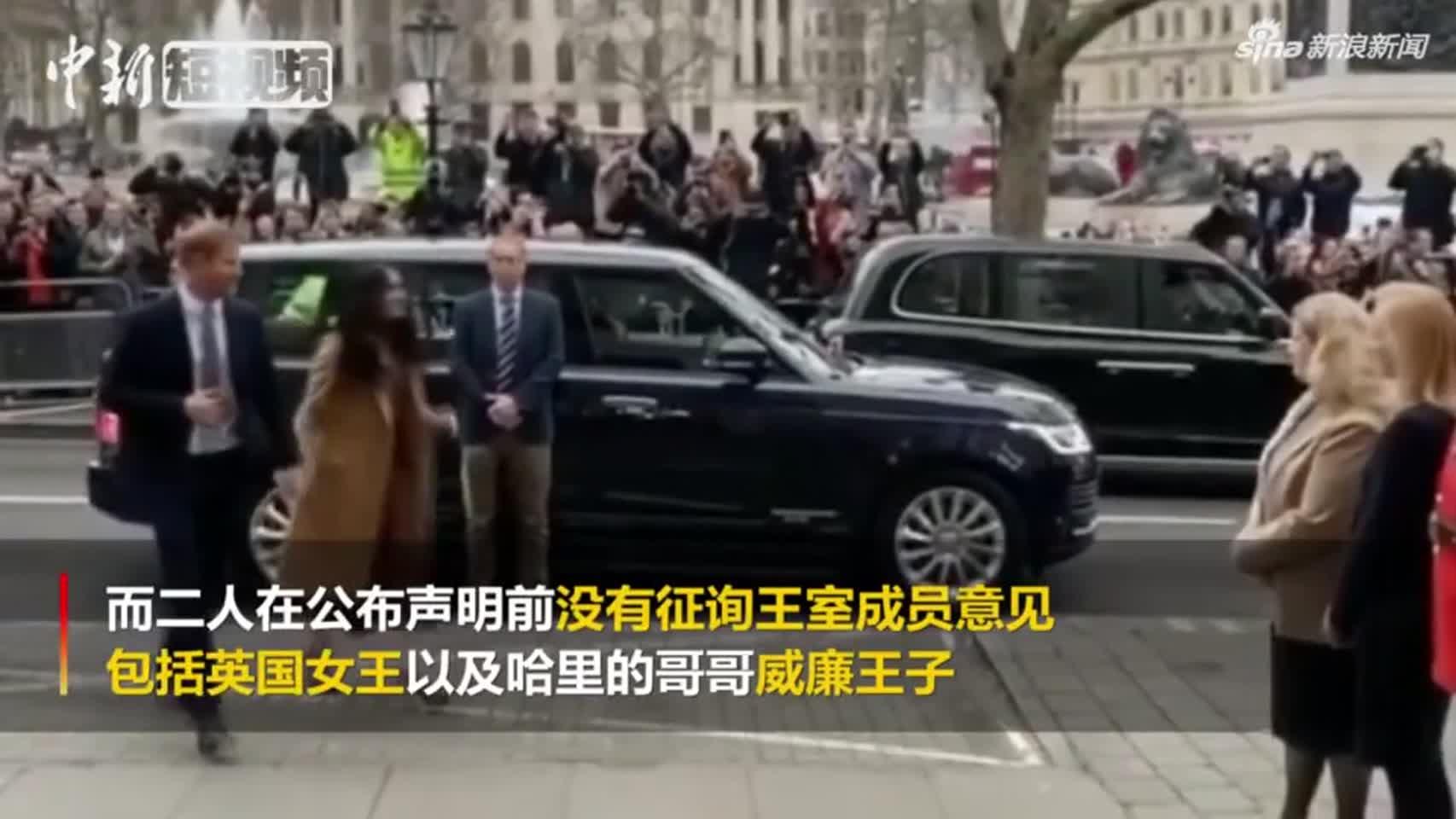 视频-哈里王子夫妇发言人证实:梅根已经回到加拿大