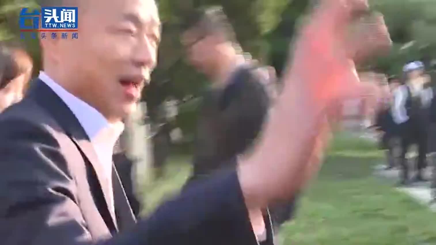 视频 直击韩国瑜投票!女儿韩冰陪同全程笑瞇瞇