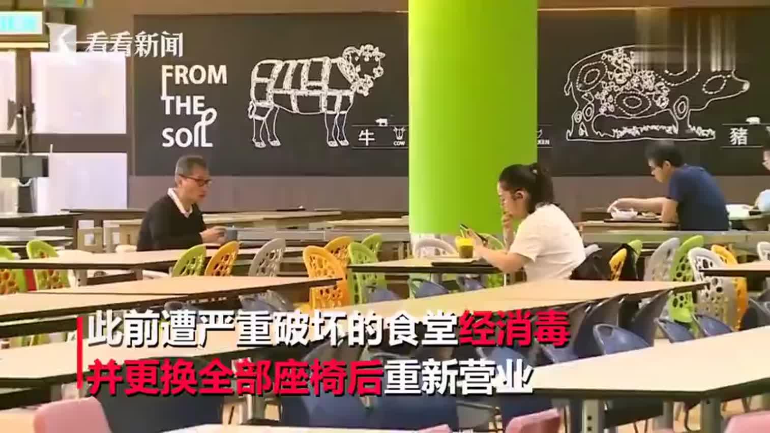 视频-香港理工大学开学出入口设闸机 持有效证件方