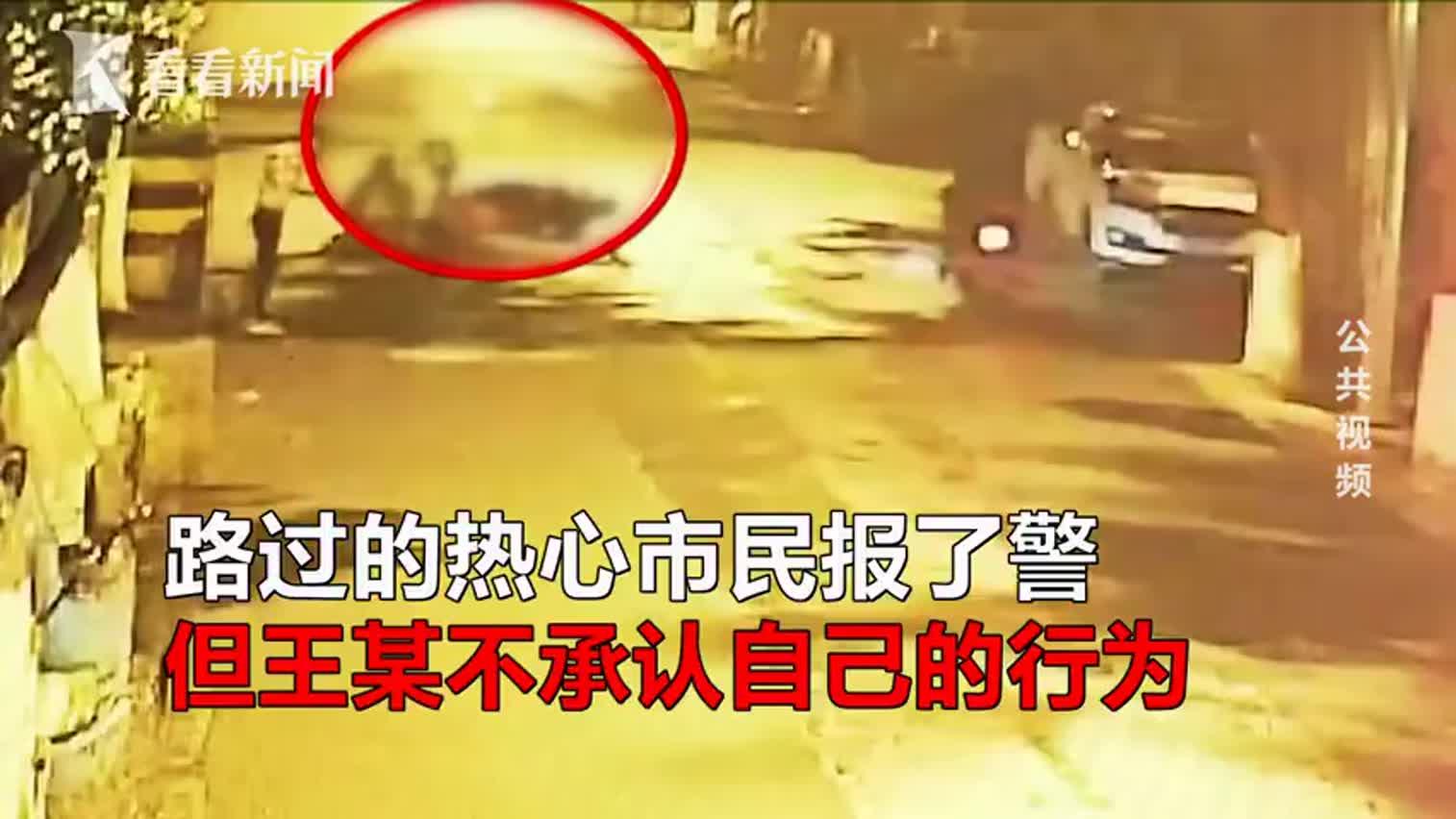 视频:路边遇情侣吵架 女子停下围观被打骨折