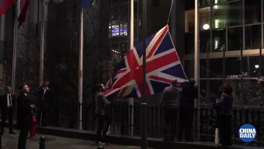 """视频-英国首相就脱欧发表讲话:脱欧是""""新时代的黎"""