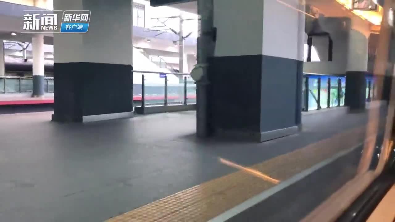 """视频-复工返京""""防疫战""""Vlog:我坐高铁回北京"""
