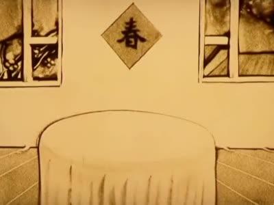 滨海新区市民沙画创作MV《家国情》