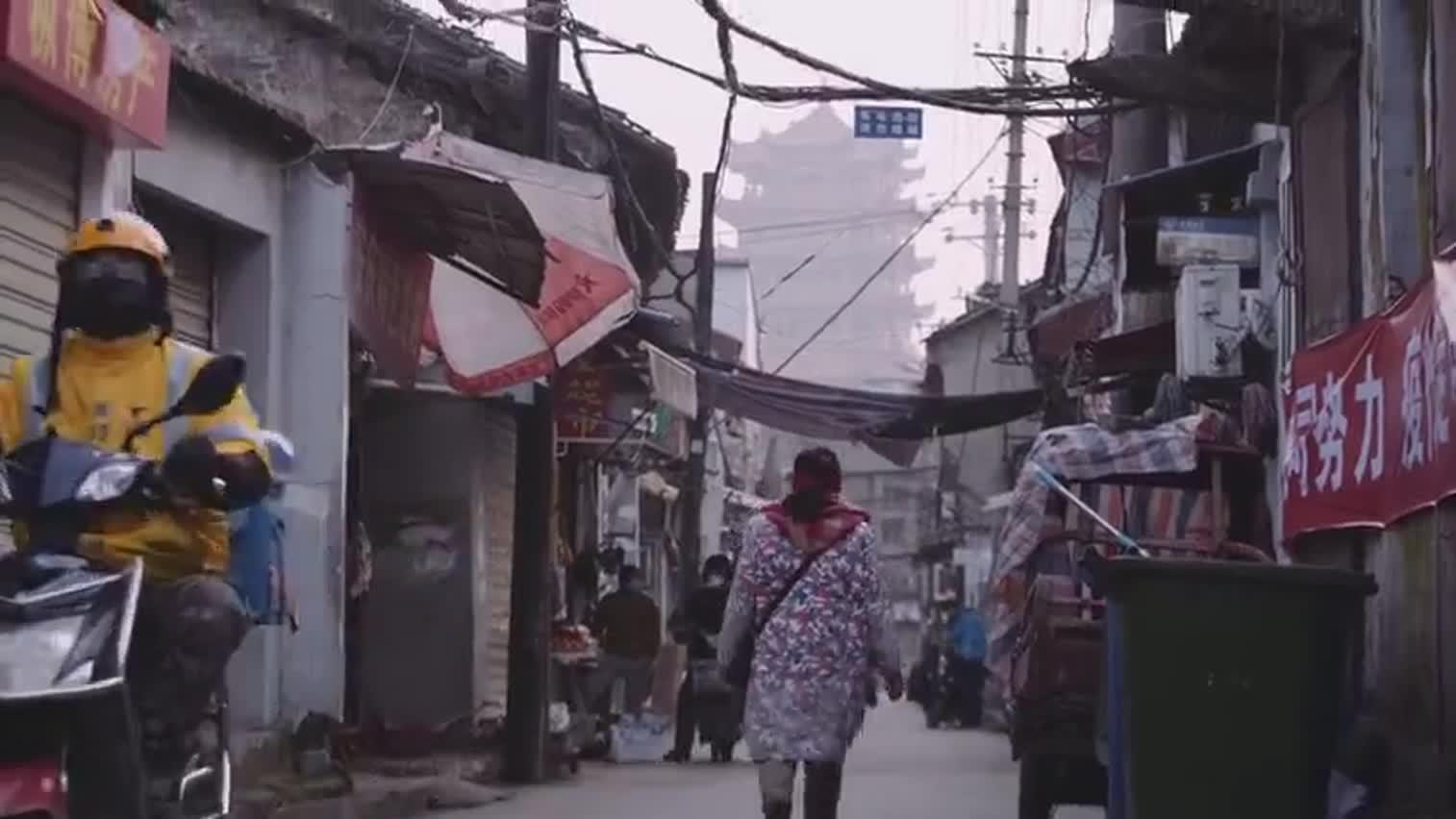 视频 武汉,奔跑的人 一位外卖骑手眼中的城
