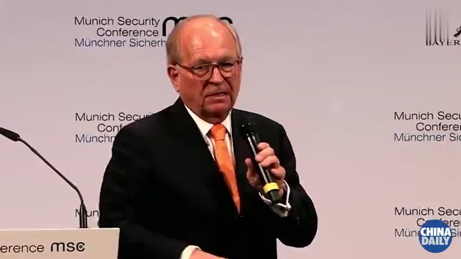 视频-慕安会主席:中国理应得到支持而非一味批评