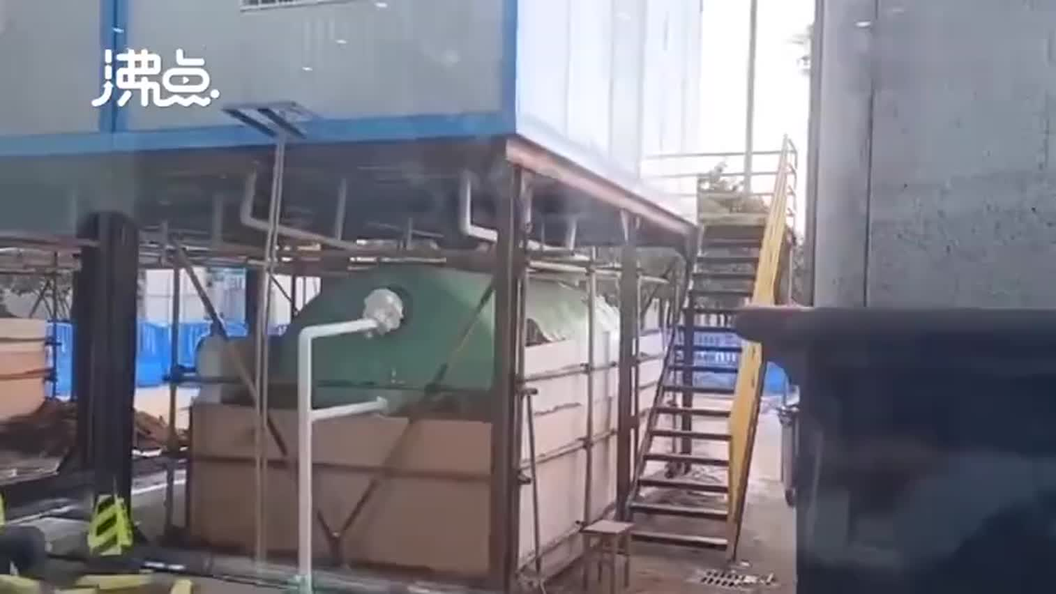 视频-江汉方舱医院可以洗热水澡了!每个病友每周可