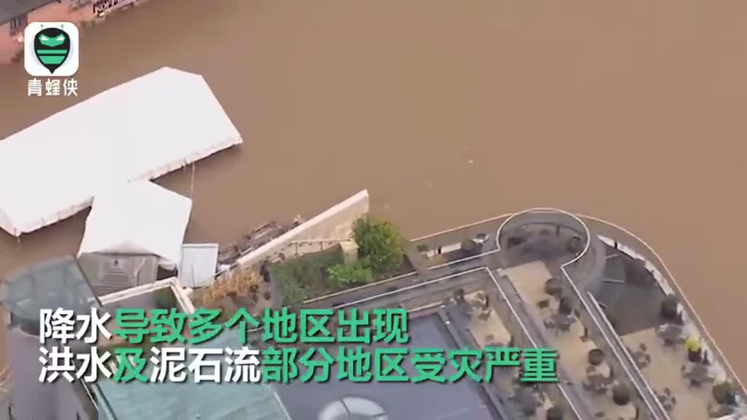 视频-英国遭遇200年来最严重洪水 英媒形容现在