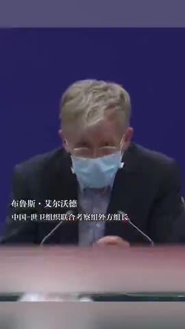 视频|听到世卫专家评价翻译小姐姐哽咽了