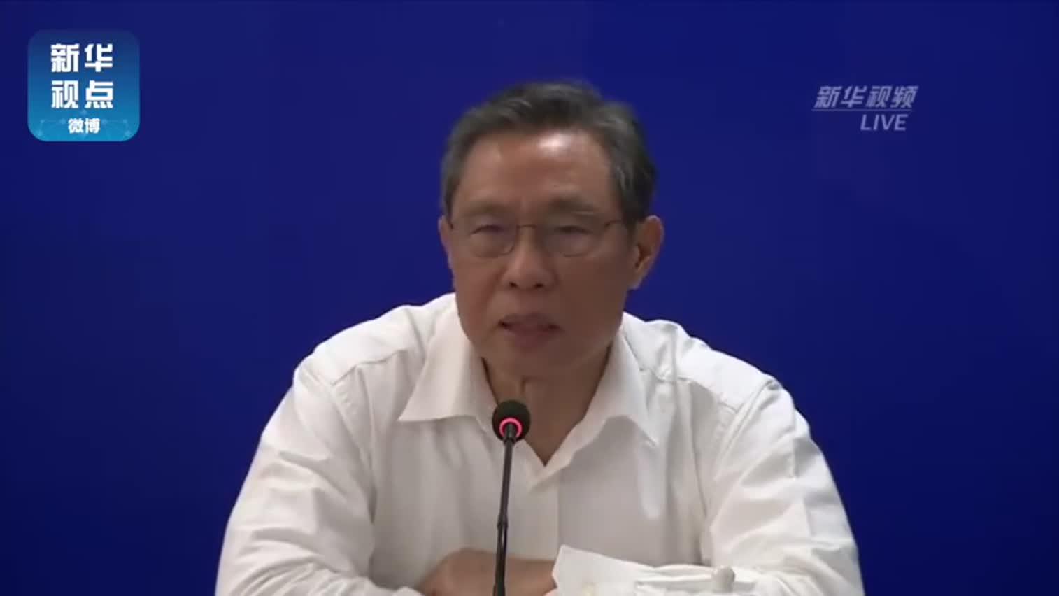 视频|钟南山谈新冠肺炎特点:小气道粘液多阻碍气道