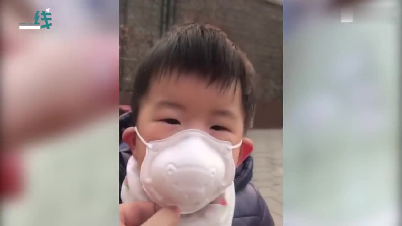 视频-口罩下的宝宝们原来是这样 网友:这是统一动