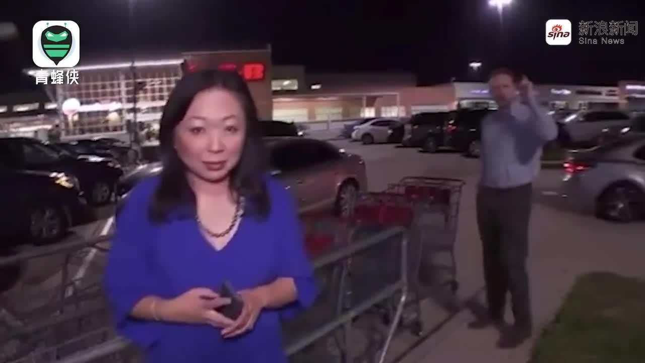 视频-美国市民乱入直播指责媒体:中国的做法都很对