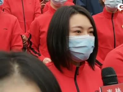 快分别了,吉林省医疗队的队员有很多不舍