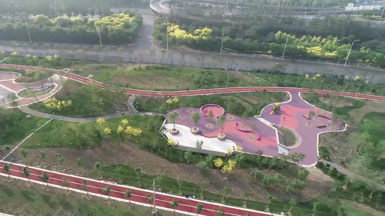 天津这处新建的公园开放了