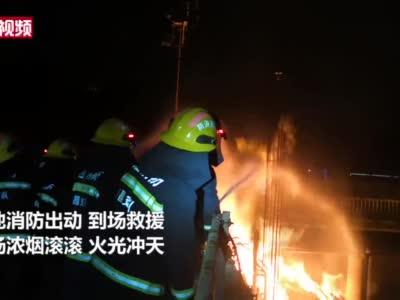 江西南昌:地下燃气管道泄漏引发大火和爆炸