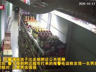 深夜的超市仓库为何有男孩跳舞?原来是熊孩子躲猫猫通宵被锁 心态不错吃吃喝喝跳跳舞