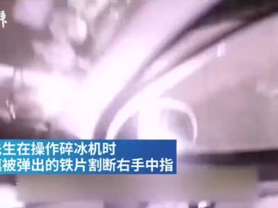 上海一男子断指送医遇拥堵,民警火速开道护送