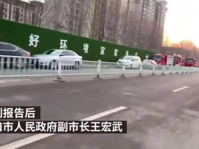 周口通报一酒店新建项目工地发生事故:9名涉险工人被救