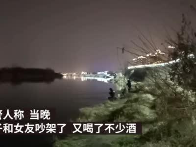 """男子发朋友圈称要跳长江,民警争分夺秒""""按图""""寻人"""