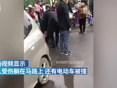 武汉一网约车发生交通事故,有人员伤亡