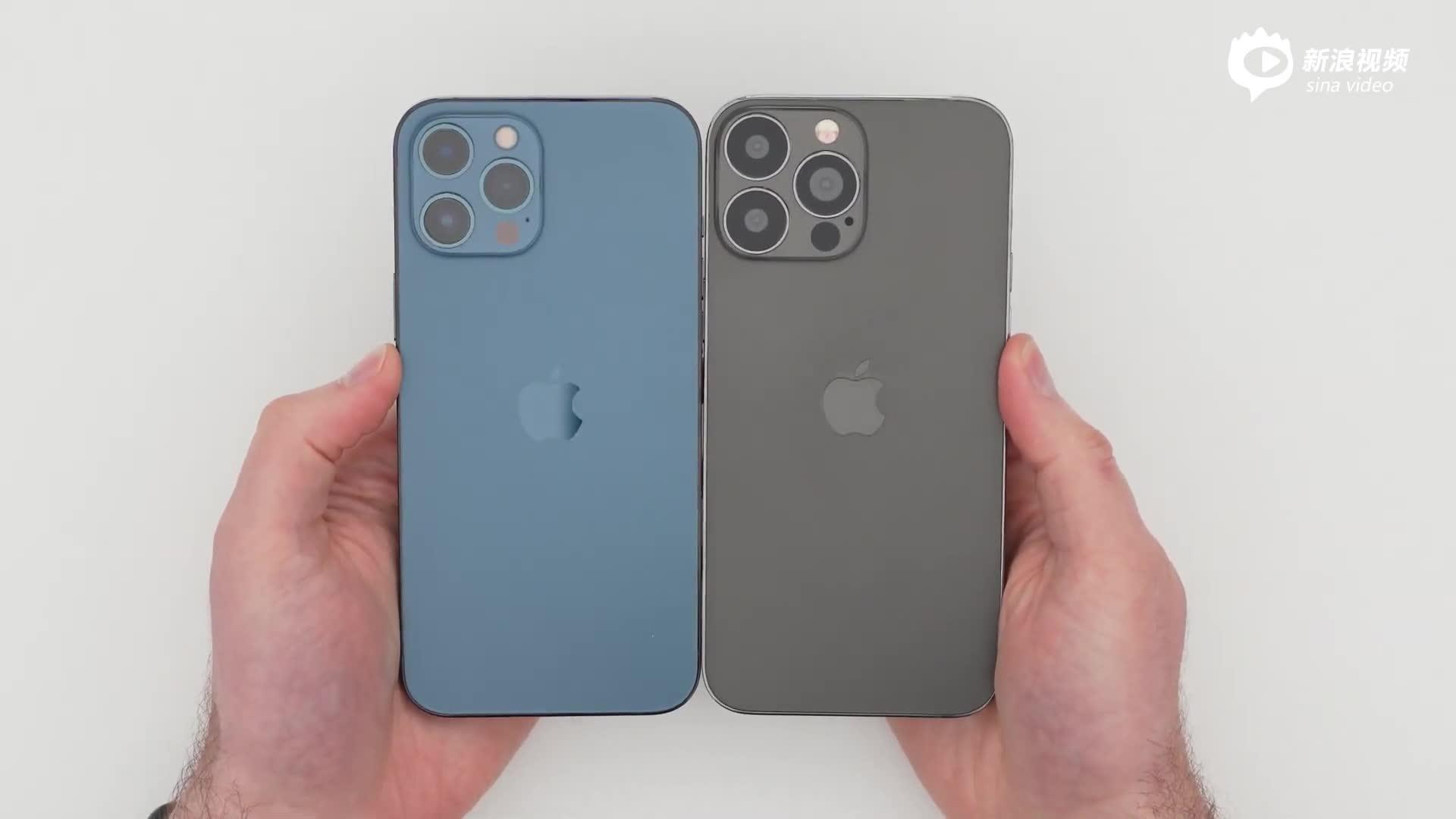 iPhone 13 Pro Max机模亮相:刘海更小 摄像头更大