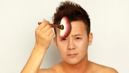 让女生自叹不如的男生化妆教程