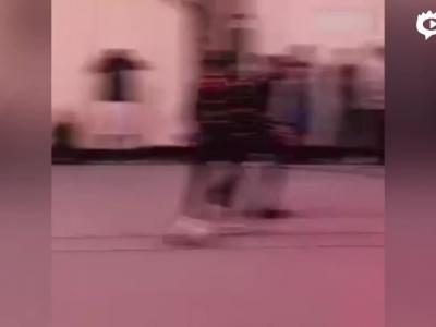 唐斯拉塞尔单挑秀球技