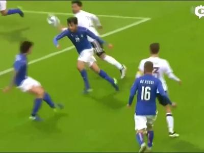 热身赛意大利0-0德国