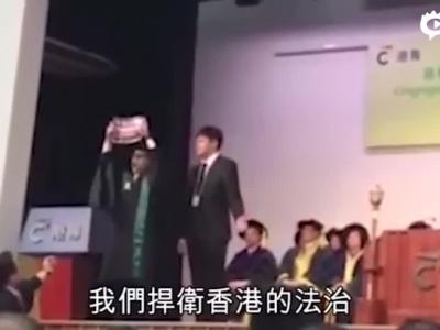 香港学生侮辱国歌校长质问