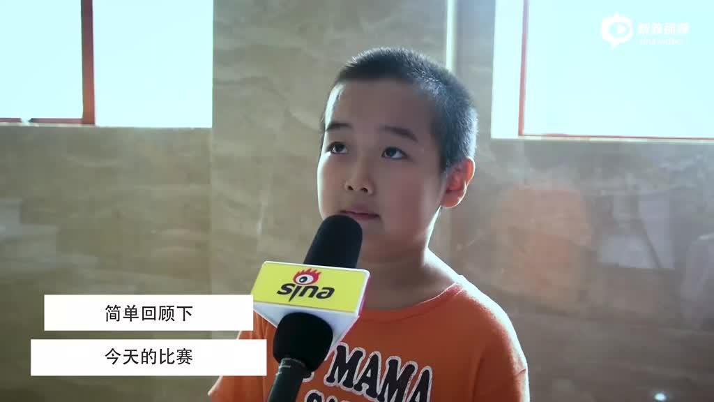 视频-围棋小选手回顾棋局 喜欢人类代表柯洁哥哥