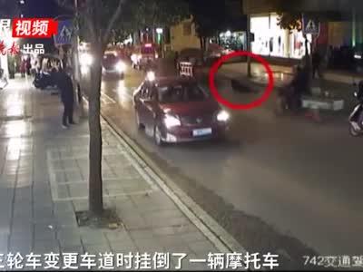 孕妇被拖行数米 肇事司机听到呼喊后竟踩油门跑了!