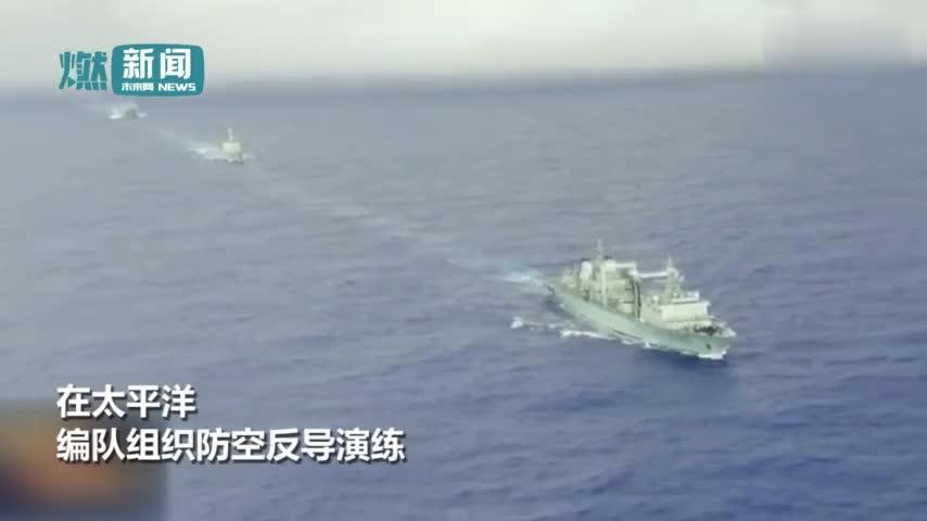 视频:中国海军5舰编队驰骋远海 052D大驱导弹