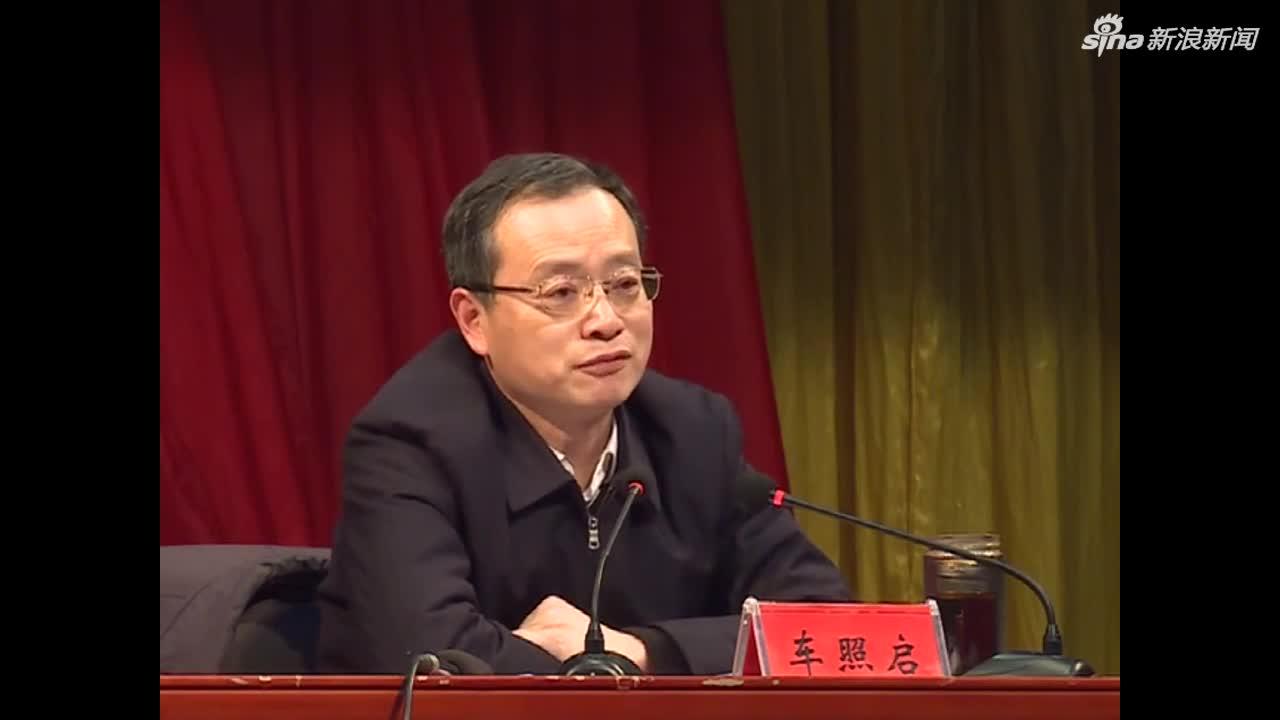 视频:安徽蒙城全县大会上 县委书记两度落泪