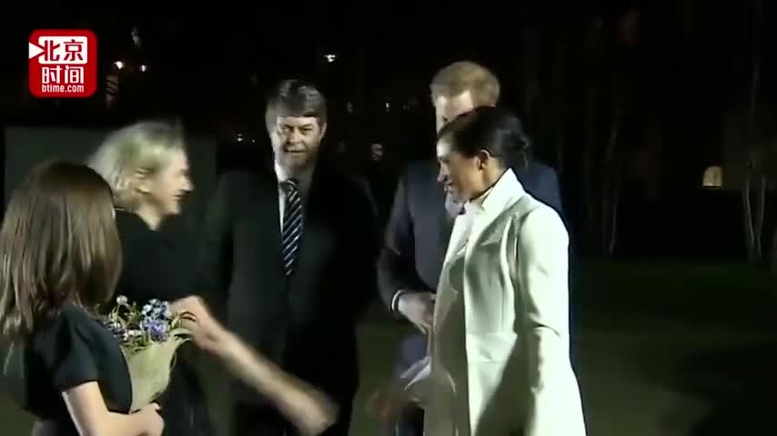 视频-英国王妃爱上中国针灸 还带着王子哈里沉迷其