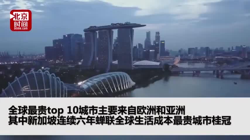 视频-全球生活成本最贵城市排名 香港首登榜首