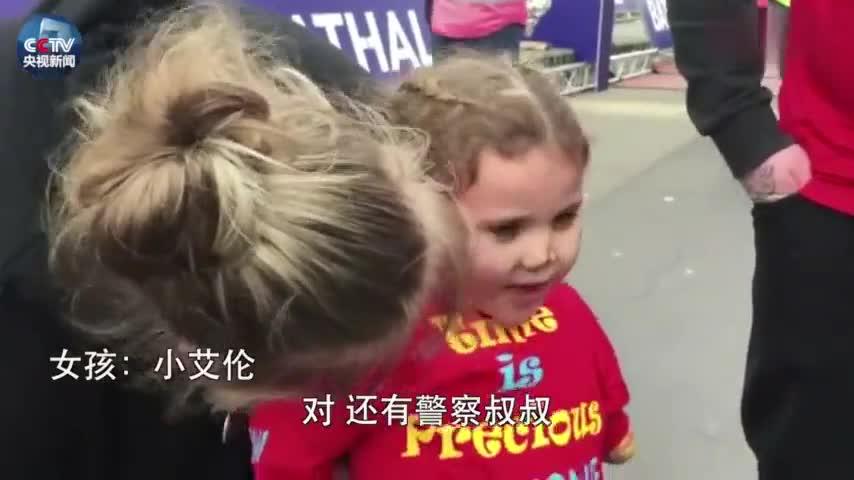 视频-超棒!5岁无臂无腿女孩3小时完赛半程马拉松