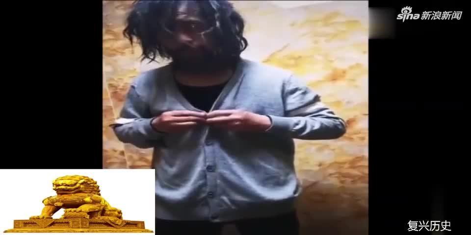 视频|流浪大师沈巍被人接走:洗了澡换了新衣服 头