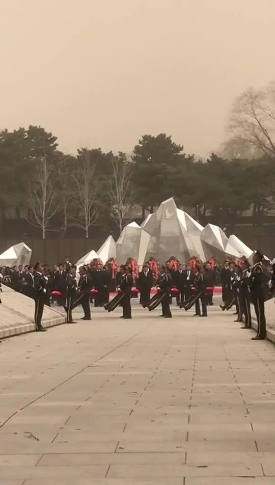 视频:第六批在韩志愿军烈士遗骸在沈阳安葬