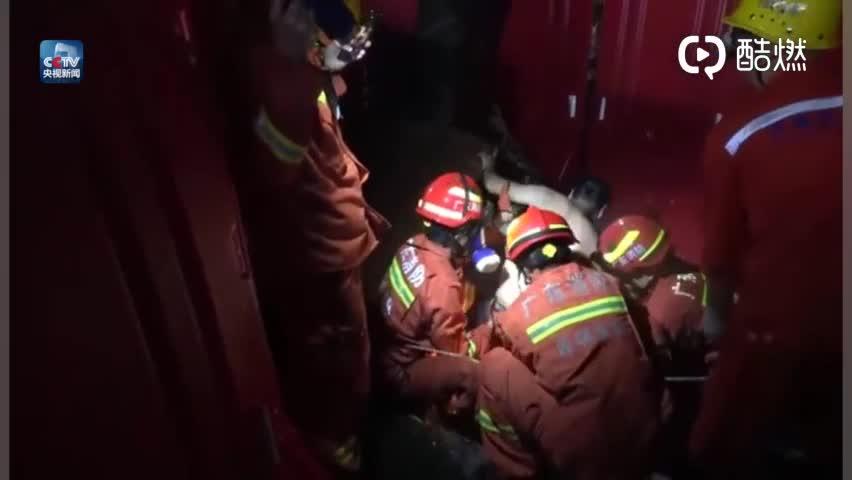 视频:消防人员救援全过程!深圳暴雨致清淤工人被困