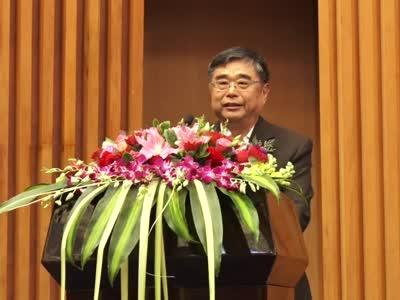 中国经济传媒协会副会长黄文夫致辞