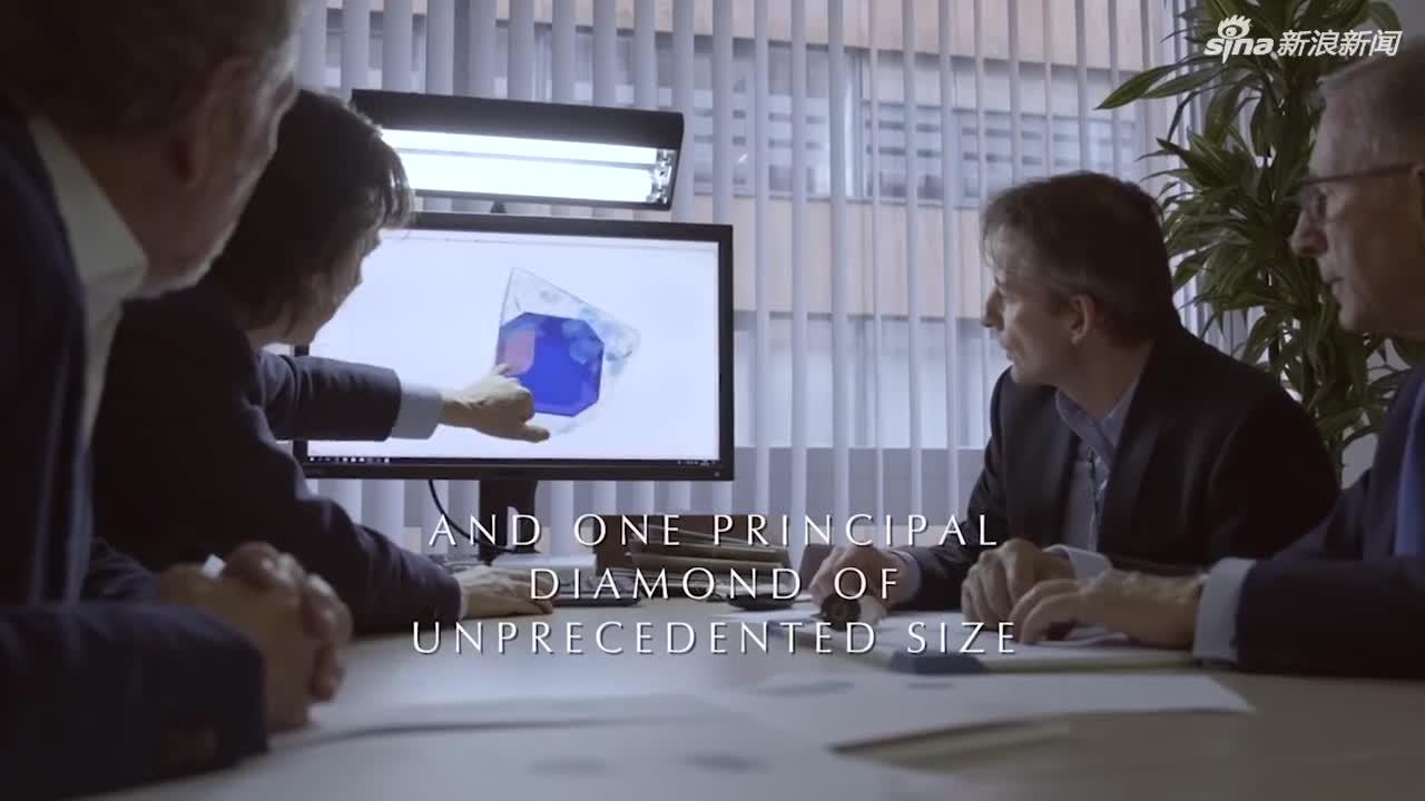 视频-302.37克拉世界最大方钻将出售:耗时1