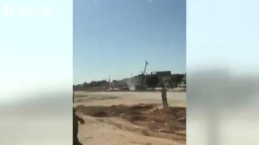 视频:利比亚民族团结政府宣布击落一架利比亚国民军