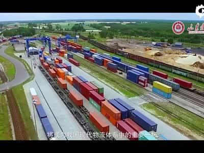 山东职业学院专业解读视频宣传片-铁路物�流管理