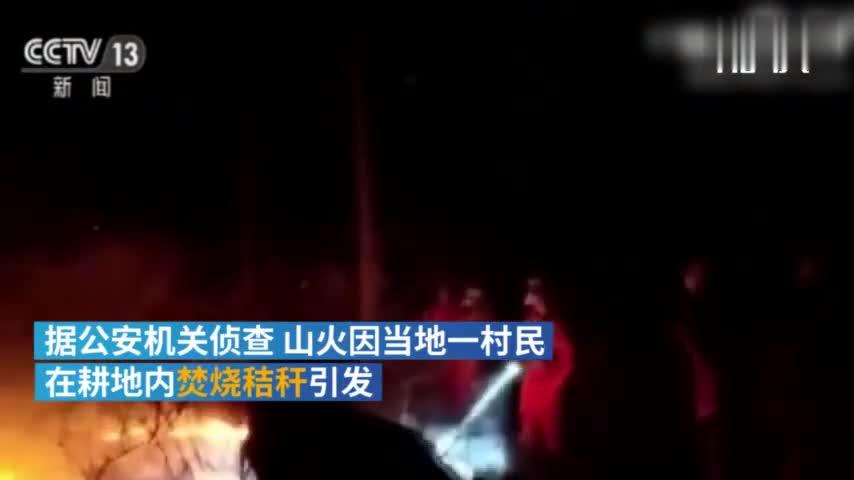 视频:沈阳棋盘山明火基本扑灭 系村民烧秸秆引发