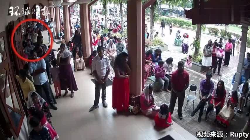 视频-斯里兰卡酒店公布新的监控视频:两名嫌疑人身