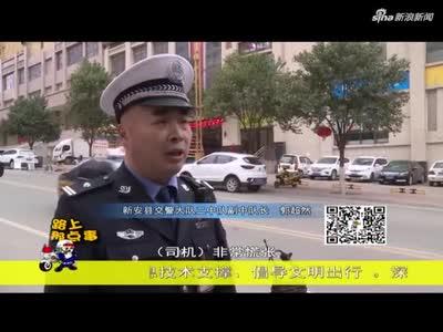 这段视频火了 河南交警霸气强制破窗 网友:教科书式执法