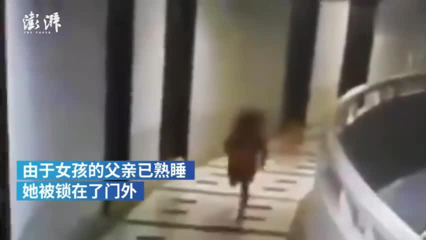 泰国5岁女孩梦游时坠下12楼奇迹生还