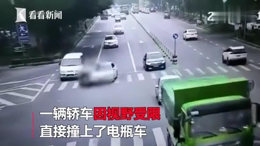 视频:教训太惨痛!90后女孩生命最后10秒 逆行